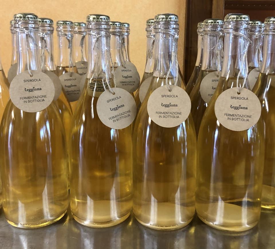 Spergola rifermentata in bottiglia